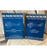 (2) 1973 Data Plan Books by Alfred Granger Bristol Bulldog & Hawker Wood... - $19.79