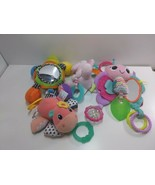 Bright Star Carters Infantino Baby Rattles Teethers Assorted Lot of 4  - $21.55