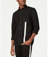INC International Concepts I.N.C. Men's Contrast Stripe Shirt XXL Deep B... - $14.80