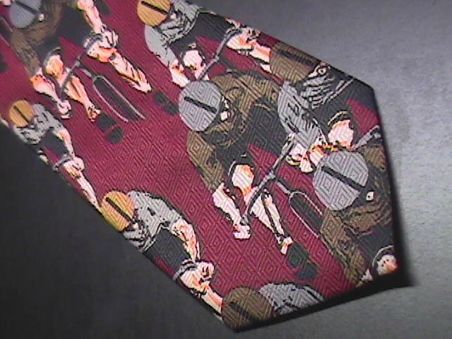 Sette & Bellow Hand Made Neck Tie Repeating Cyclers