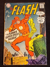 ThE FLASH COMIC BOOK No. 182 September 1968 DC Comics Super Speed Phobia - $7.91