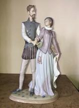 "Lladro Palace Dance Figurine #6373G 15.74"" Tall - $1,385.01"