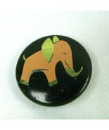 1950s VTG PINK ELEPHANT Pin Back Button MCM Mod Mid Century Modern - $28.54