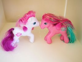 My Little Pony Pegasus 2005 Crystal Princess Daisy May & 2006 Twinkle Bloom - $14.95