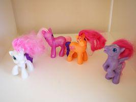My Little Pony McDonalds 2009 Sweetie Belle 05 Wisteria2008 Scootaloo S... - $9.95