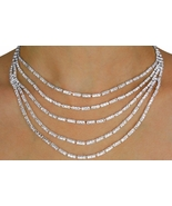 5-Strand Genuine Austrian Crystal WEDDING DAY JEWELRY SET - $68.88