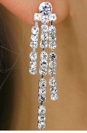 5-Strand Genuine Austrian Crystal WEDDING DAY JEWELRY SET