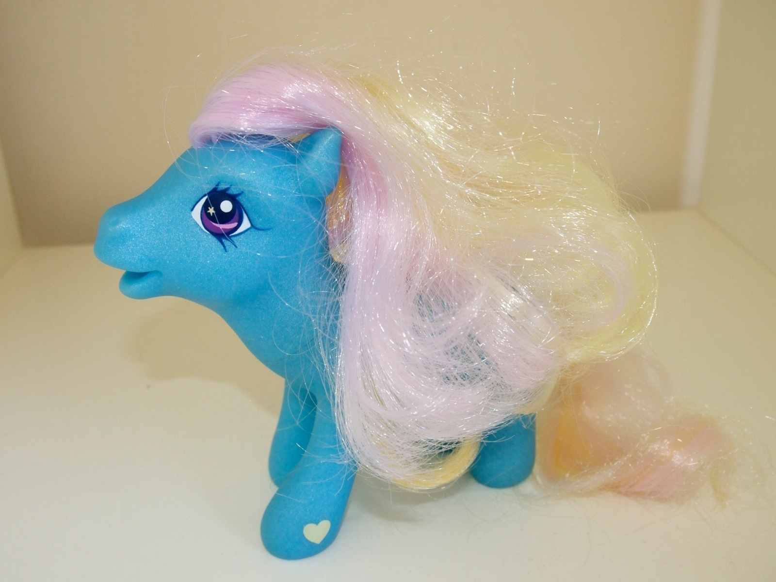 My Little Pony Morning Dawn Delight Blue Easter Egg Chick 2006