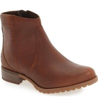 Timberland Women's Banfield Waterproof Ankle Boots Leather Casual Brown ... - $1.597,19 MXN