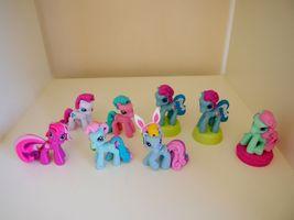 My Little Pony Ponyville Mini Figures Rainbow Dash Minty Blossomforth St... - $19.95