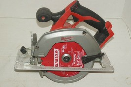 """FOR PARTS NON WORKING Milwaukee 2630-20 18V 6-1/2"""" Cordless Circular Saw... - $59.39"""