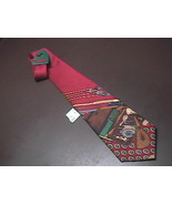 American Angler Dress Neck Tie New and Unworn with Fishing Motif - $12.99