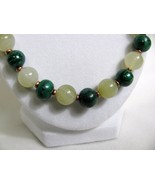 Malachite Onyx and Copper Bead Necklace RKMixables Copper Collection RKM330 - $50.00
