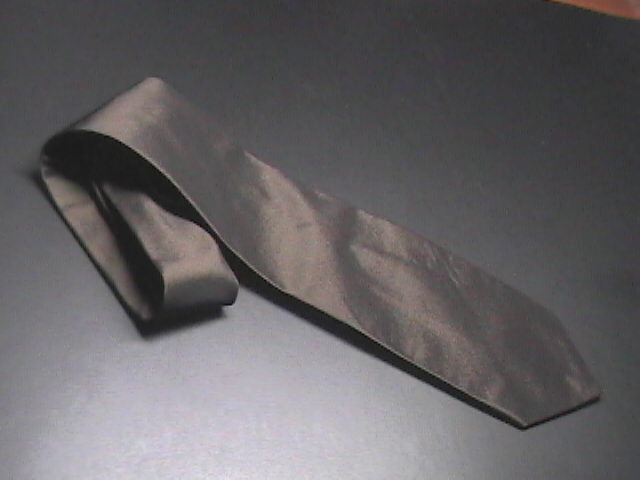 Robert Talbott Studio Mens Dress Neck Tie Metallic Look Brown Viscose Hand Sewn