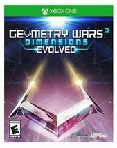 Neuf Geometry Wars 3: Dimensions Évolué (Microsoft Xbox Un, 2016) Scellé