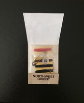 Vintage 70s Northwest Orient Regal imperial sewing kit - new and unused image 2