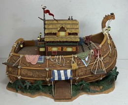 Thomas Kinkade Hawthorne Village Noah's Ark REPLACEMENT ARK ONLY - AS IS - - $46.52
