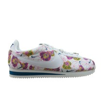 Nike Classic Cortez LX Size 9 Womens Shoes White Pink Floral NEW AV1388-100 - $74.20