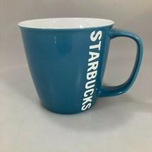 Starbucks 2010 Blue 14 oz Coffee Tea Cocoa Mug NEW - $27.93