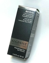 Algenist REVEAL Color Correcting Anti-Aging Serum Foundation TAN 1oz SPF... - $17.80