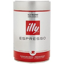 illy Classic Roast Ground Coffee 250g (Pack of 2)  - $45.00