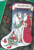 Dimensions Santa Gifts for All Horse Christmas Cross Stitch Stocking Kit 7959 - $139.95