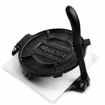 Uno Casa Cast Iron Tortilla Press - 8 Inch, Pre-Seasoned Maker with... - $47.36