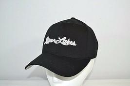 Riverlakes Golf Club Baseball Cap Black FlexFit S/M Yupoong - $19.99