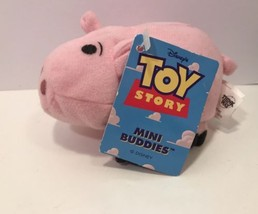 NWT Thinkway Disney Toy Story  Hamm Pig Plush B... - $9.74