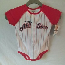 Carters Sz. 6 months 1 Pc. Outfit Daddy's All Star - $7.79