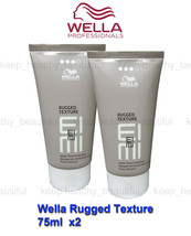 Wella Rugged Texture Matte Texturising Paste 75ml x 2 registered post - $28.80