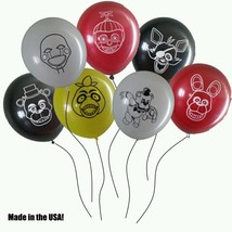 FNAF Five Nights At Freddy's Balloons - Lot of 14!  FREE Shipping from US! - $9.49