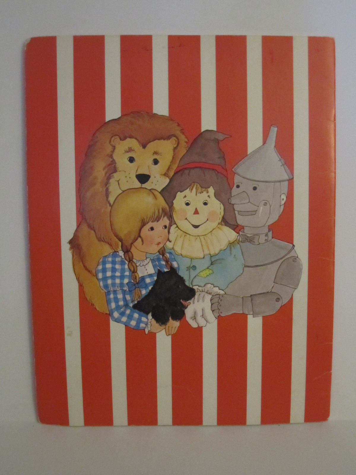 Whitman Wizard of OZ PaperDolls Vintage 1976 Paper Doll #1987 image 2