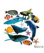 Jumbo Sea Life Cutouts - $8.36