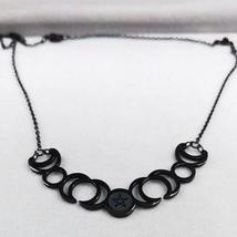 Sun Moon Pentagram Stainless Steel Silver Color Necklace image 4