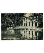 Hacks Canoe Retreat Collotype Postcard Rancocas Creek Mt Holly New Jersey  - $21.78