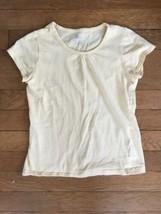 * childrens place solid yellow short sleeve tee shirt Medium 7 - 8 girls - $2.97