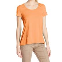 Large 12-14 Lole Women's Mukha Top Scoop Neck Short Sleeve Tee Shirt Melon NEW
