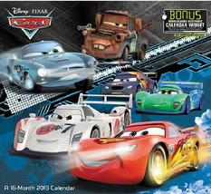 Walt Disney Pixar Cars Movies 16 Month 2013 Wall Calendar, NEW SEALED - $12.59