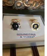 NWT Sophisticated  Men's Cufflinks By Roundtree And York - $17.82