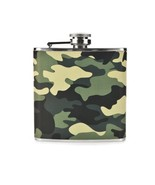 Flasks, Metal Small Stainless Steel Flask Liquor Camouflage - 6ounce 6oz - $31.09