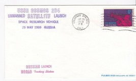 USSR COSMOS 284 LAUNCH COLORADO SPRINGS CO MAY 29 1969 #7 OF 9 RE NICHOL - $3.58