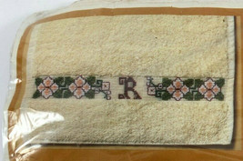 Oriental Initial Hand Towels Cross Stitch Kit Creative Circle #1623 - $8.79