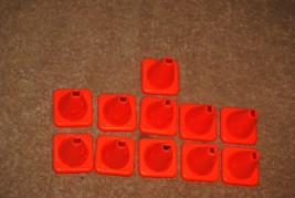 Old 1999 Toy Story 2 Cone Crossing Board Game Parts Plastic Cones No. 41947 - $12.00