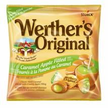 NEW Werther's Original Caramel Apple Filled Hard Candy Creamy Center 2.45oz Bagw - $5.29