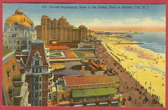 Atlantic city nj scene