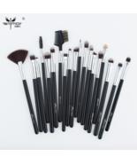 Anmor® 19 pcs/set Makeup Brushes Pro Black Silver Eye Shadow Blending Fa... - $16.38