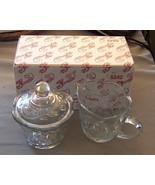 Princess House Cream and Sugar Set, Fantasia Pa... - $9.50
