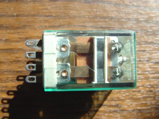 24 Volt DC Relay DPDT  Midtex 158-12C200