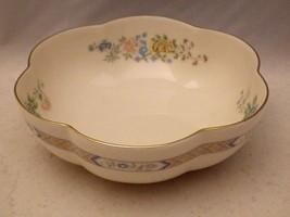 "Gorham Cherrywood pattern - hexagonal scalloped 6 3/8"" Melon Bowl - retired 1989 - $12.82"